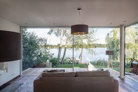 haus am see 2 burckhardt metall glas gmbh moderne wohnzimmer