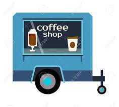 100 Food Truck Trailer Street Coffee Festival Color Labels Van Restaurant
