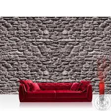 vlies fototapete no 1618 steinwand tapete stein steinoptik steine wand wall steintapete grau