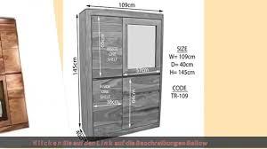 esszimmermöbel massivmoebel24 de vitrine sheesham