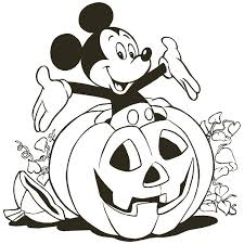 Mickey Mouse Thanksgiving Printable Coloring Pages