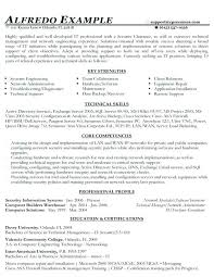 Technical Resumes Samples Functional Resume Administrative A Information Technology Support Example Pdf