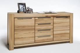 elfo möbel nena sideboard 6658 in kernbuche massivholz geölt kommode mit 2 türen und 4 schubkästen stilvolle anrichte für wohnzimmer oder esszimmer