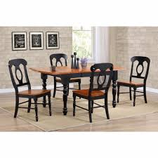 Sunset Trading - 5 Piece Drop Leaf Extension Dining Table Set With Napoleon  Chairs - DLU-TDX3472-C50-BCH5PC Conner Drop Leaf Counter Height Ding Set Kinsey 5 Piece John Lewis Partners Adler Butterfly Folding Table And Four Chairs Fniture Double Oval With Wheels Small Diing Table Smerizing Folding Ding Tables For Stuman Medium Brown Pc Round Duncan Fyfe Style Sold Contact Custom Orders Leaf 4 Chairs Stored Vintage Shabby Chic Rustoleum Chalk White Distressed 2 Vancouver Pce Suite Rest Easy