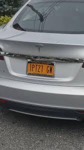 Best Tesla license plate funny