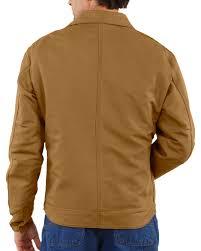 carhartt men u0027s flame resistant canvas dearborn jacket sheplers