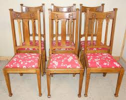 Set Of 6 Art Nouveau Oak Dining Chairs - LA61444 | LoveAntiques.com Set Of 8 Vintage Midcentury Art Nouveau Style Boho Chic Italian Stunning Of Six Inlaid Mahogany High Back Chairs 2 Pair In Antiques Atlas Lhcy Solid Wood Ding Chair Armchair Lounge Nordic Style A Oak Set With Table Seven Chairs And A Side Ding Suite Extension Table France Side In Leather Chairish Gauthierpoinsignon French By Gauthier Louis Majorelle Caned An Edouard Diot Art Nouveau Walnut And Brass Ding Table Four 1930s American Classical Shieldback 4