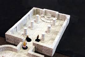 3d Dungeon Tiles Uk by Dungeonstone