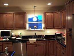 kitchen lighting recessed sink cabinet pendant fixtures island