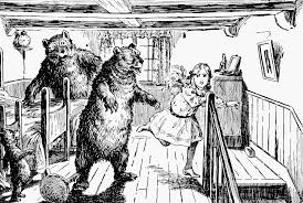 Once Upon A Time There Were Three Bears Who Lived In House The Woods Mama Bear Papa And Baby
