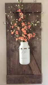 Mason Jar Wall Vase Dining DecorRustic