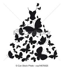 White Dress clipart gown 3