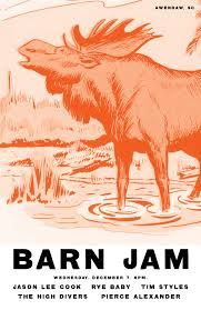 Forgot To Post This Last Week. So Heres Last Week Barn Jam Poster ... Barn Jam Wed July 13 6pm Gil Shuler Graphic Design Jan 24 Feb 8 Apr 27 Aug 3 Barnjam2310 The Big Red Barn Jam April 19 Jan18 Oct At Awendaw Swee Outpost Charleston Events Pinterest David Gilmour Richard Wright Youtube
