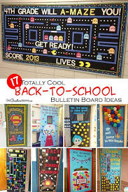 Wow The Class With These Cool Back To School Bulletin Board Ideas Classroom Door DecorationsClassroom