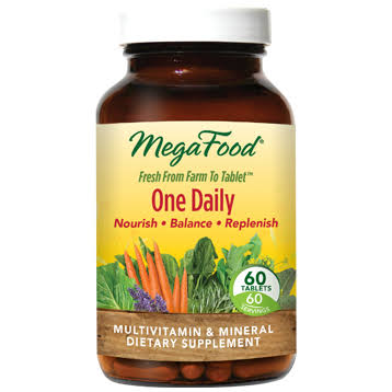 MegaFood One Daily - 60 Tablets