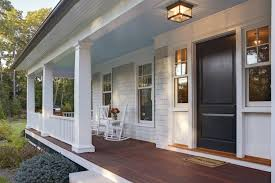 Columns On Front Porch by Modern Front Porch Columns Front Porch Design Ideas