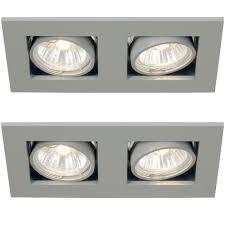 beleuchtung design led decken strahler wohn zimmer küche alu