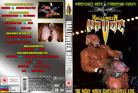 Halloween Havoc 1999 Card by Nwa Wcw Covers The No1 Classic Wrestling Cover Site