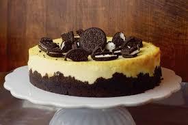 oreo cheesecake mit pfirsichen
