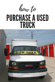100 Small Trucks For Sale By Owner How To Purchase A Used UHaul Moving Truck Tips For Business