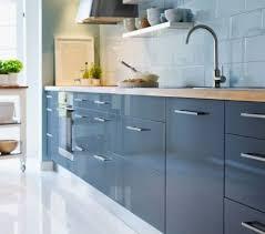 ikea blue kitchen cabinets ikea abstrakt gray kitchen cabinet door front high gloss gray