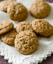 Molasses Iced Oatmeal Cookies