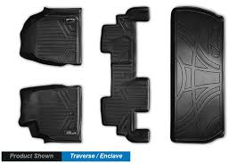 Chevy Traverse Floor Mats 2011 by Vehiclethings Com Floor Mats Cargo Liners Tonneau Covers