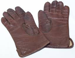 german ww2 officer brown leather gloves