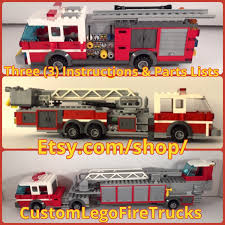 100 Lego Fire Truck Games 60107 Instructions