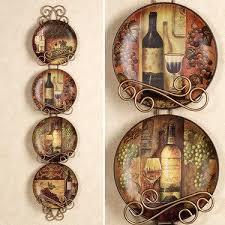 Majestic Grape Plate Set Wine Kitchen ThemesGrape