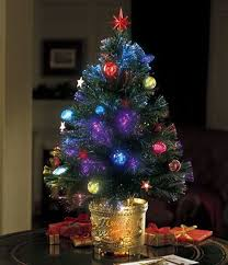 Fiber Optic Trees At Walmart Revolving Christmas Tree From Collections Etc