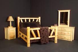 starburst log bed rustic log furniture