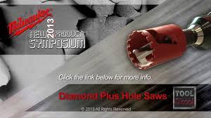 Tile Hole Saw Set by Milwaukee Diamond Plus Hole Saws First Look Youtube