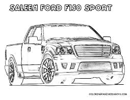 100 Coloring Pages Of Trucks Ford Coloring Pages