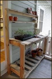 how to make a gardener u0027s potting bench potting tables diy