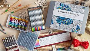 Charming Colored Pencil Kits For Adults Make Your Coloring Books Beautiful With These Pens And