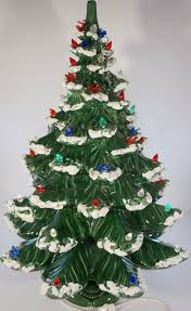 Ceramic Christmas Tree Bulbs And Stars by 54 Best Ceramic Old Fashion Tree U0027s Images On Pinterest Ceramic