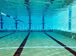 Underwater Shoot Of Empty Swimming Pool