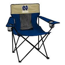 Notre Dame Elite TailGate/Camping Chair Features NCAA Sports Team ... Folding Quad Chair Nfl Seattle Seahawks Halftime By Wooden High Tuckr Box Decors Stylish Jarden Consumer Solutions Rawlings Nfl Tailgate Wayfair The Best Stadium Seats Reviewed Sports Fans 2018 North Pak King Big 5 Sporting Goods Heavy Duty Review Chairs Advantage Series Triple Braced And Double Hinged Fabric Upholstered Amazoncom Seat Beach Lweight Alium Frame Beachcrest Home Josephine Director Reviews Tranquility Pnic Time Family Of Brands