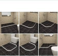 silikon bodenversiegelung für dusche badezimmer dusche dusche bodenabdichtung für den wasserfluss auf dem boden verschiedene größen 50