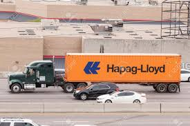 DALLAS, USA - APR 8: Hapag-Lloyd Container Truck On The Highway ... Peterbilt Semi Truck Hauling Cargo Through Dtown Boston Usa Stock Peterbilt And Chrome Tanker On Inrstate 15 In California Firefighter Usa Truck Photos A Desert Stock Photo Image Of Blue Travel 546614 Gas Station Ice Cream Pladelphia Pennsylvania Photo Stop Van Horn Texas 7945918 Alamy American Lorry New York City Nyc Impressive Design Large Old Chevrolet Advance Design 3100 Main Street Santa Ana Driver Entering Rest Stop I55 Inrstate Illinois Royalty