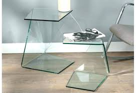 bout de canapé en verre table bout de canape en verre design sign pier import socialfuzz me