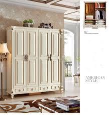 klassischer antik stil kleiderschrank schrank holz garderobe schlafzimmer barock