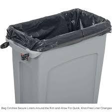 Rubbermaid Slim Jim Storage Shed Instructions by Garbage Can U0026 Recycling Plastic Indoor Rubbermaid U0026 174 Slim