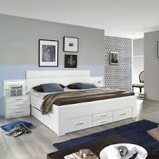 details zu bett friedberg schlafzimmerbett doppelbett in weiß mit stauraum 180x200 cm