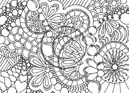 Gallery Abstract Coloring Pages Difficult Within Free For Adults To Print