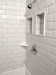4x8 soft white wide beveled subway ceramic tile backsplashes walls