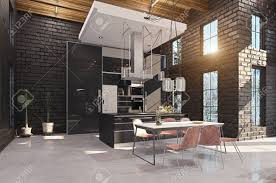 100 Modern Luxury Design Luxury Kitchen Interior 3d Design Concept Rendering