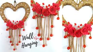 New Heart Wall Hanging Craft Ideas