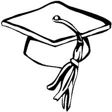 Graduation Cap Free Printable Coloring Pages